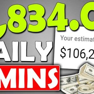 Earn $1,860 Daily In Passive Income That Takes 15 Minutes (Make Money Online)