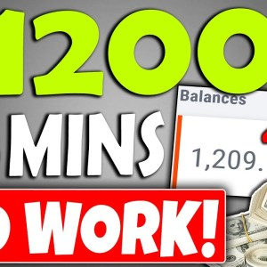 """EARN $1,200 Per Day """"DOING NO WORK"""" On Autopilot in Passive Income (Make Money Online)"""