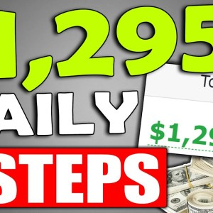 Get Paid $1,295/DAY With a DONE FOR YOU Model That's Set Up in 3 EASY STEPS (Make Money Online)