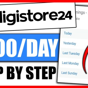 Earn $539 Per Day Passively | Digistore24 Tutorial for Beginners (Digistore24 Affiliate Marketing)