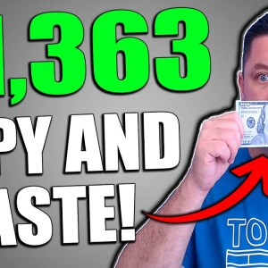 Make $500 - $1,000 Per Day to COPY and PASTE! Make Money Online