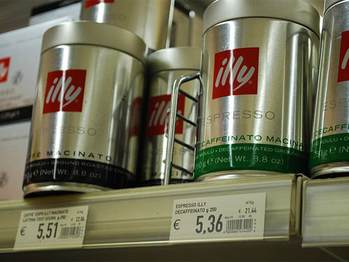 Illy coffee products