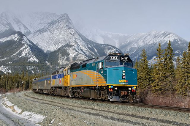 "VIA Rail's ""Canadian"""