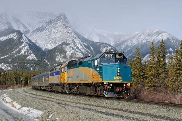 "VIA Rail's ""Canadian"""