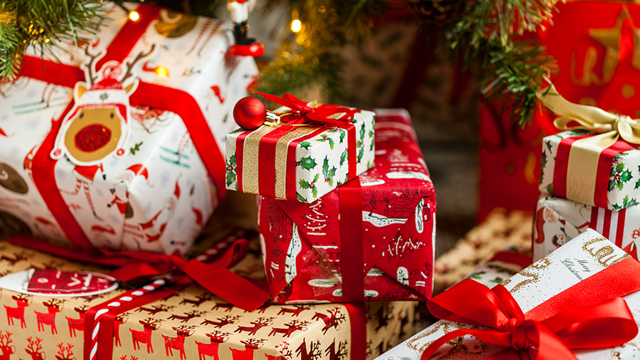 Image result for christmas gifts wrapped