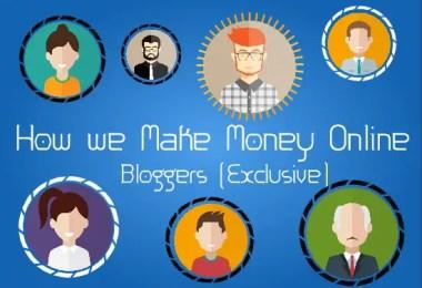 How Bloggers Make Money Online