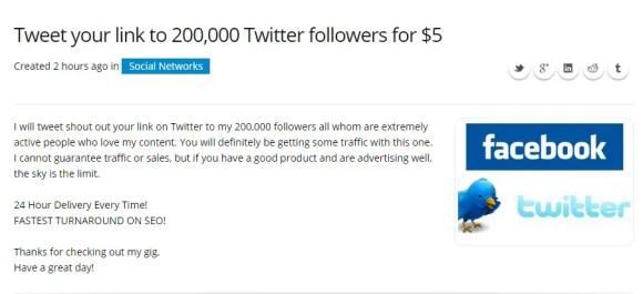 Make money from Twitter