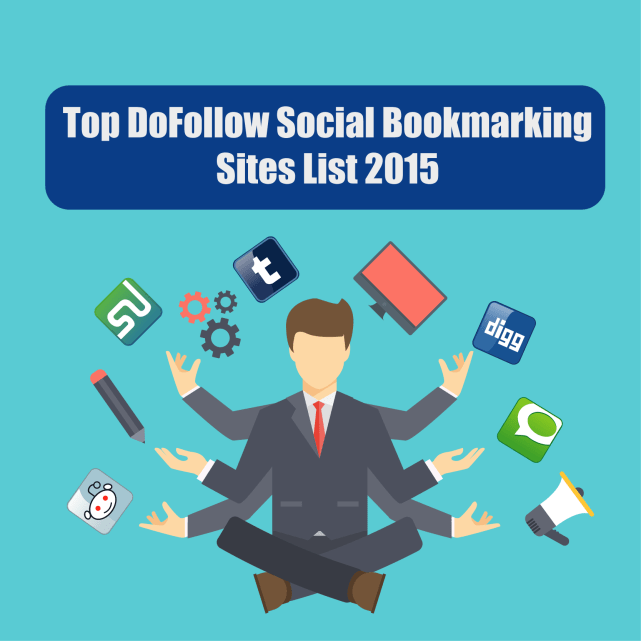 Top Do Follow Social Bookmarking Site list 2015