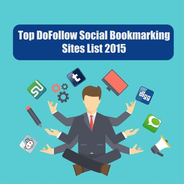 Top Do Follow Social Bookmarking Site list 2015