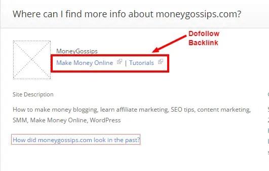moneygossips.com Alexa Overview
