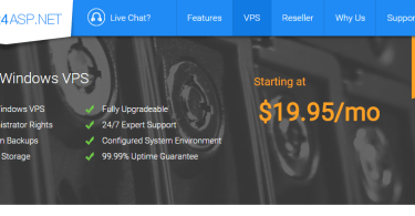 host4asp.net review VPS hosting