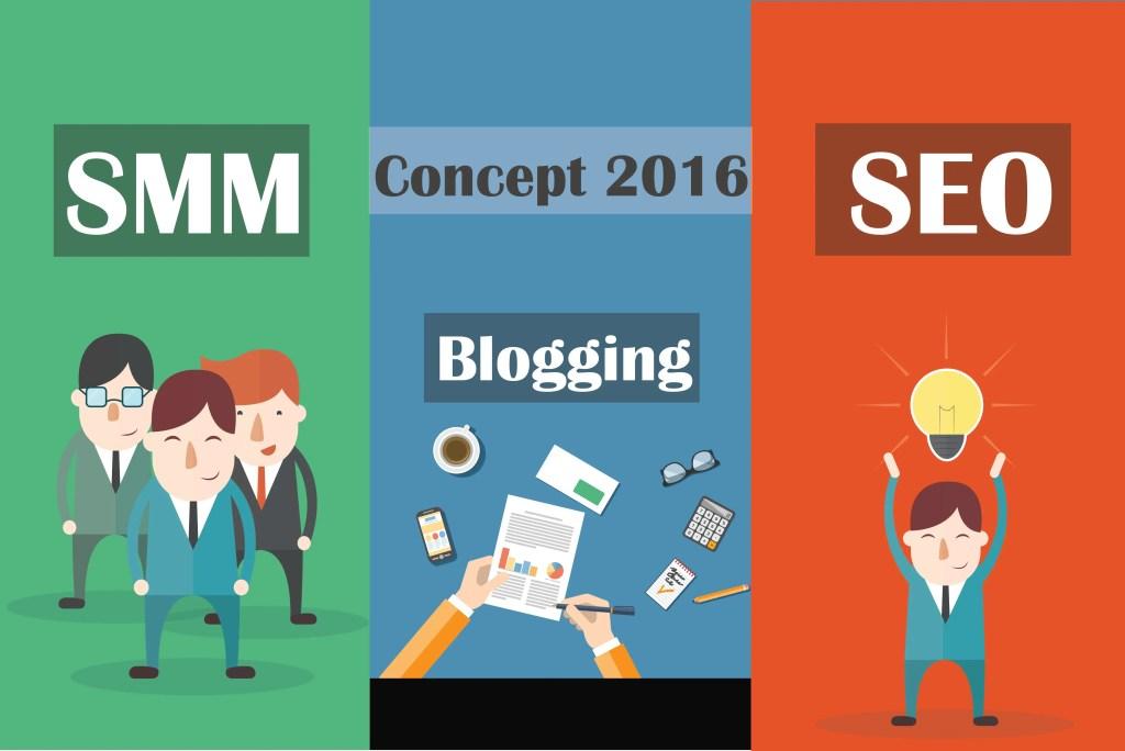 Blogging Concept 2016