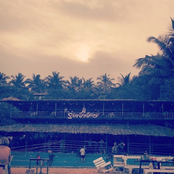 Morning at Shiva Valley Goa