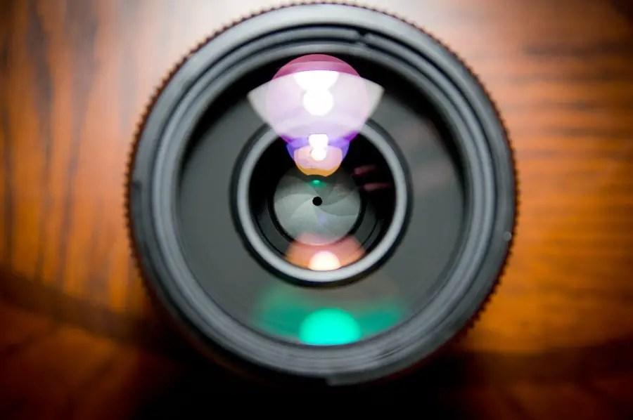 Clean iPhone camera lens