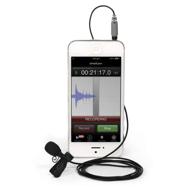 iPhone Mic for Better Audio