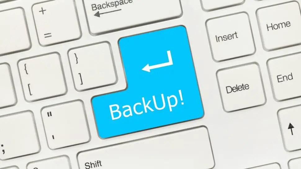 Do Necessary Backup