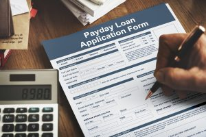 Payday Loan Application Form Salary Debt