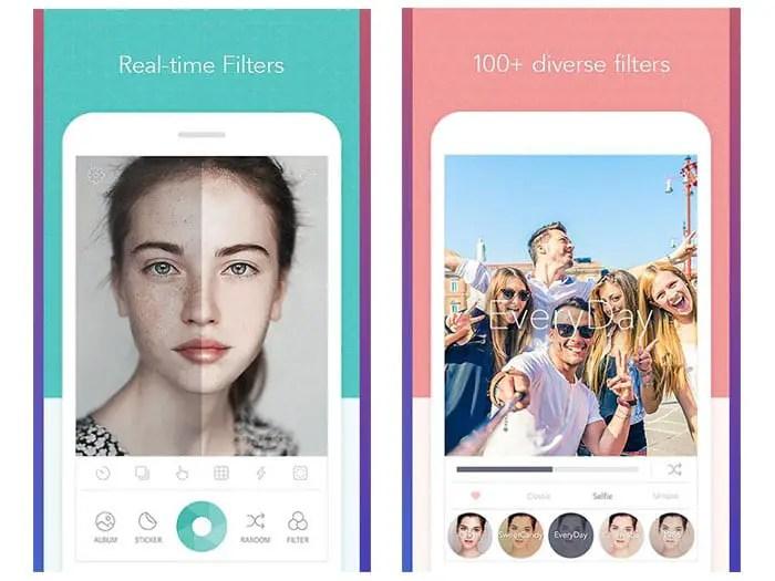 CandyCamera -BeautyPlus Alternatives 2020