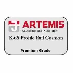 Artemis Pool Table Cushions and Rails