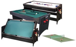 Combination Game Tables - Billiards, Air Hockey, Table Tennis | moneymachines.com