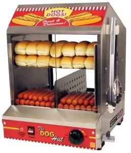 Dog Hut Commercial Hot Dog Steamer Machine | moneymachines.com