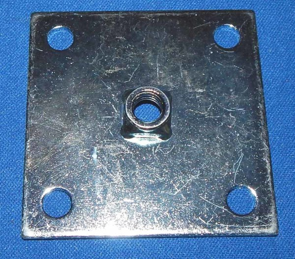 Heavy Duty Leg Leveler Mounting Plate | moneymachines.com