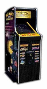 Pacman Arcade Party Home Cabaret Game Machine [Mini Cabinet] | moneymachines.com