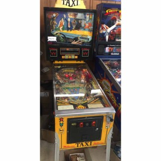 Used Williams Taxi Pinball Machine | moneymachines.com