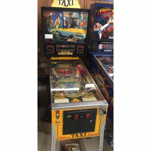 Used Williams Taxi Pinball Machine | moneymachines.com