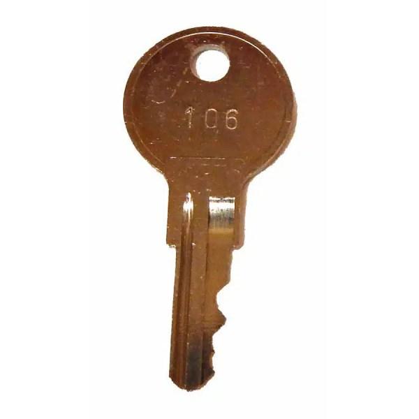 #106 Key For Dynamo Pool Tables | moneymachines.com