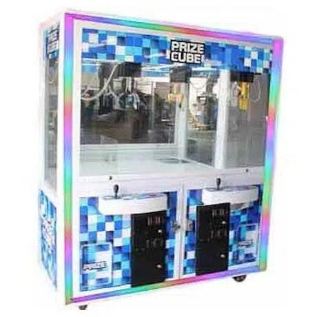 """60"""" Prize Cube Crane Skill Claw Machine   moneymachines.com"""