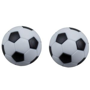 Foosball Table Checkered Soccer Balls - Set of 2 | moneymachines.com