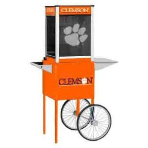 Clemson NCAA College Logo Popcorn Machine | moneymachines.com