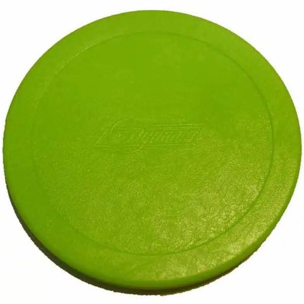 Dynamo 3 1/4 Inch Flourescent Green Puck | moneymachines.com