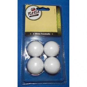 4 Fat Cat White Foosballs | moneymachines.com