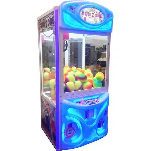 Fun Zone Color Changing Crane Claw Machine   moneymachines.com