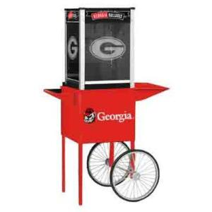 Georgia NCAA College Logo Popcorn Machine | moneymachines.com