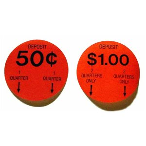 Gumball Machine Pricing Stickers | moneymachines.com