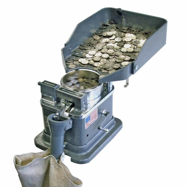 Klopp CMB Manual Bagging Coin Counter   moneymachines.com