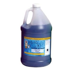 Motla Snow Cone Syrup - Grape (1 Gallon) | moneymachines.com