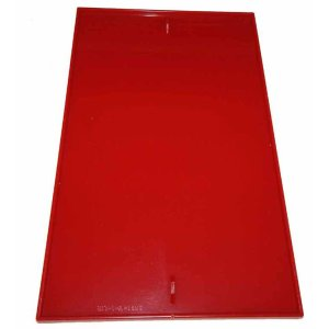 Oak Vista Red Plexi Panel | moneymachines.com