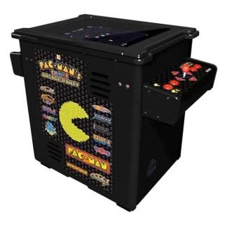 Pacman's Pixel Bash Black Cocktail Cabinet Arcade Game - Home Version | moneymachines.com