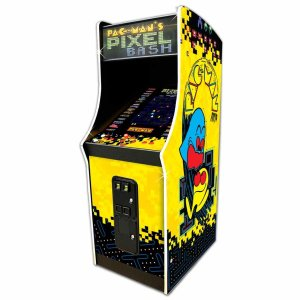Pacman's Pixel Bash Coin Operated Multi-Game Arcade Machine | moneymachines.com