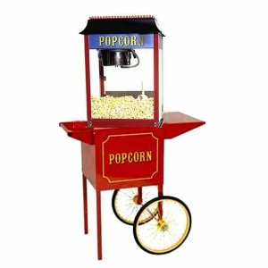 Paragon 1911 4 Ounce Popcorn Machine and Antique Cart Combo | moneymachines.com