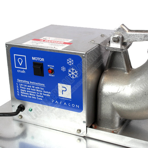 Paragon Port-A-Blast Snow Cone Machine motor | moneymachines.com