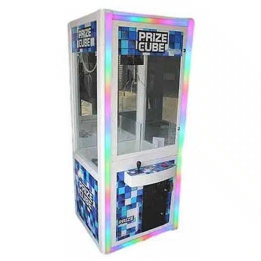 Prize Cube Light Changing Crane Skill Claw Machines   moneymachines.com
