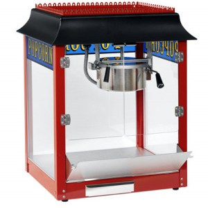 Red 1911 Old Fashion 8 Ounce Popcorn Machine | moneymachines.com