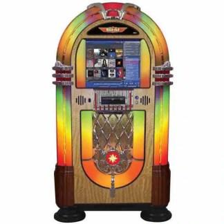 Rock-Ola Bubbler Digital Jukebox Walnut | moneymachines.com