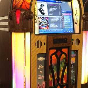 Rock-Ola Bubbler Harley Davidson Digital Jukebox | moneymachines.com