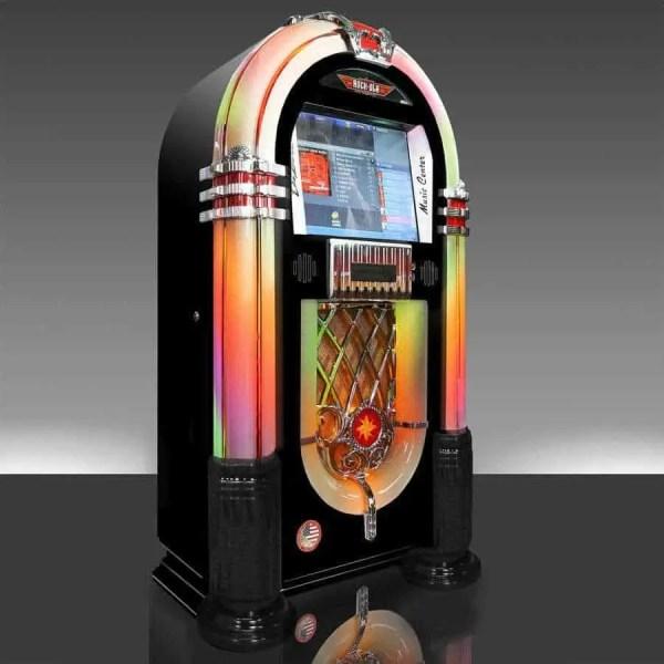 Rock-Ola Bubbler Jukebox Black | moneymachines.com